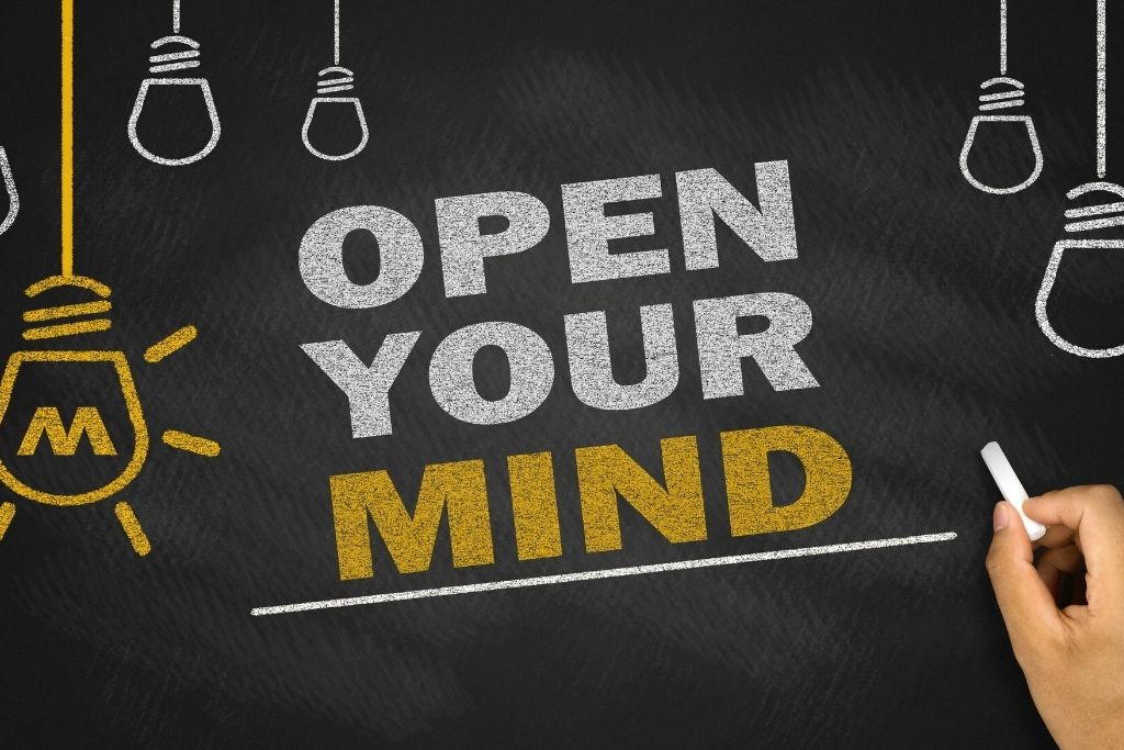 Open your mind to opinions