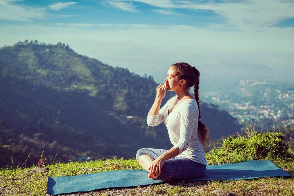 Pranayama or Breath control