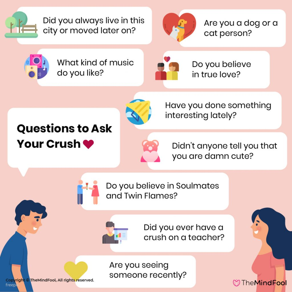 500 Questions to Ask Your Crush to see if you are a Perfect Couple