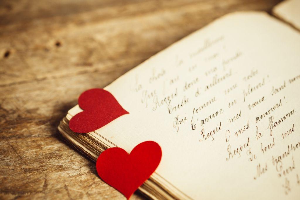 Share a love journal