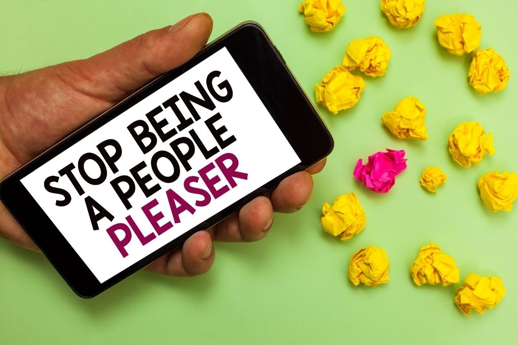 Stop being a people-pleaser