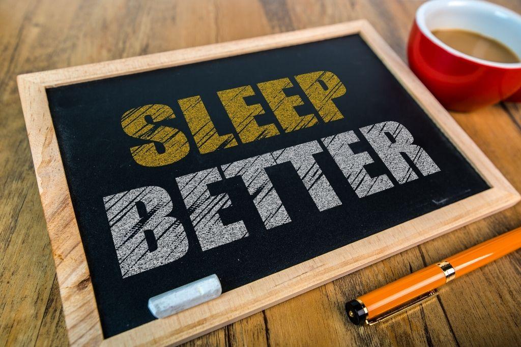 Inner peace improves sleep