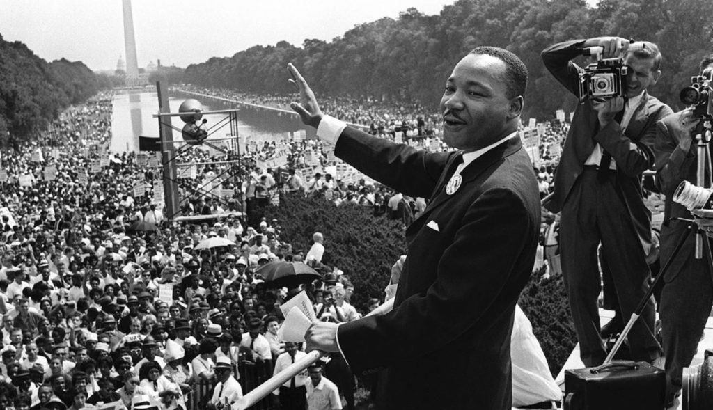INFJ Famous Personality - Martin Luther King Jr