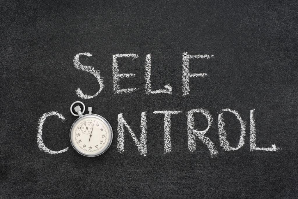 Prayer brings self-control