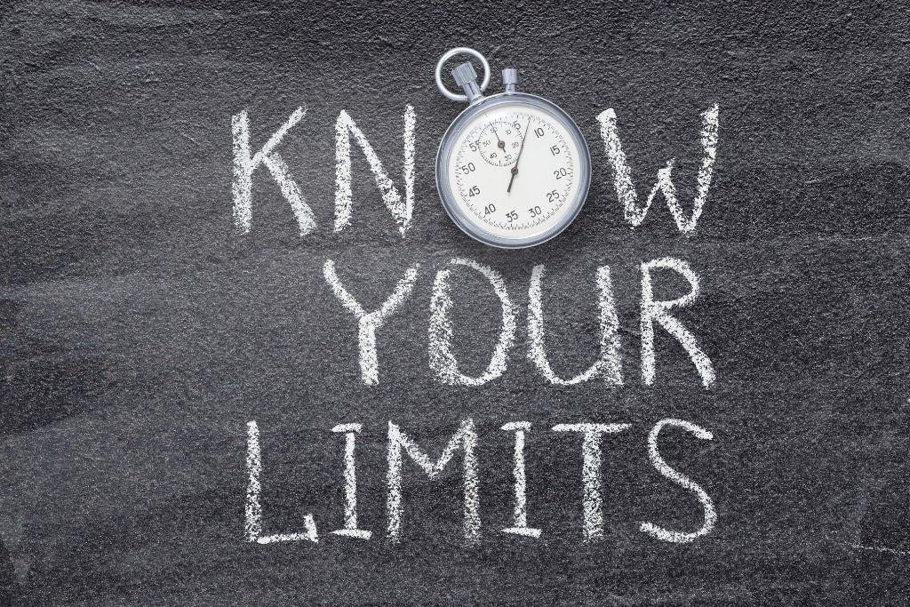 Set your limits