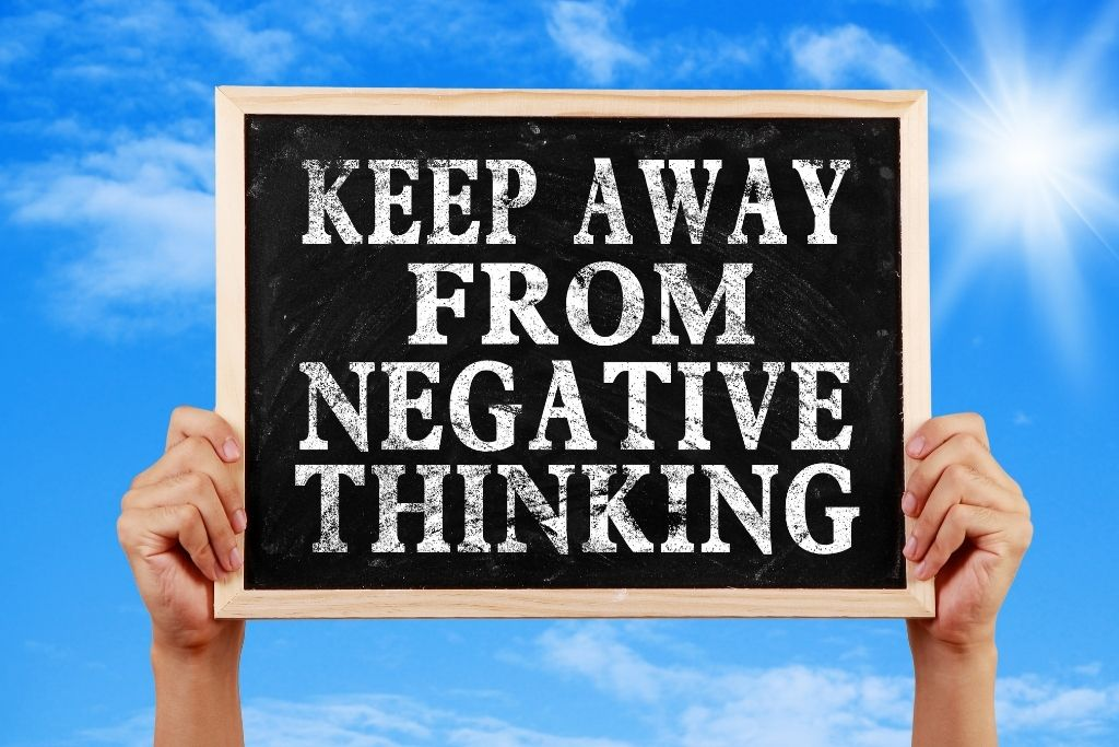 Freedom from negative thinking