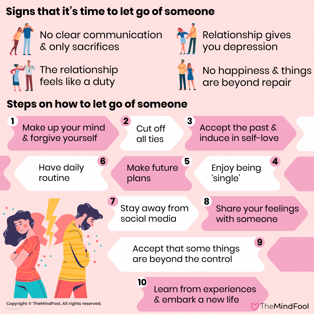 15 Steps on How to Let Go of Someone You Love