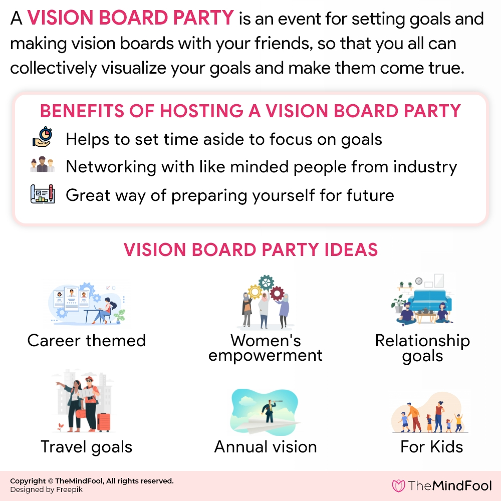 Vision Board Party: How to Host a Spectacular One