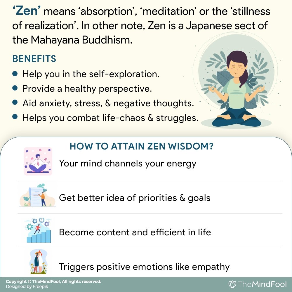 101 Zen Quotes for your Self-growth