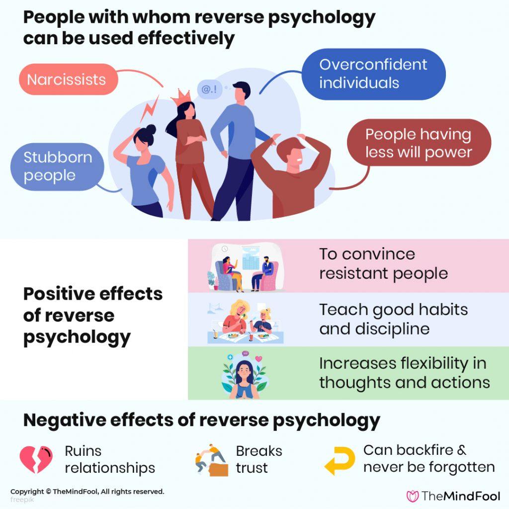 Psychology men reverse on 3 Devious