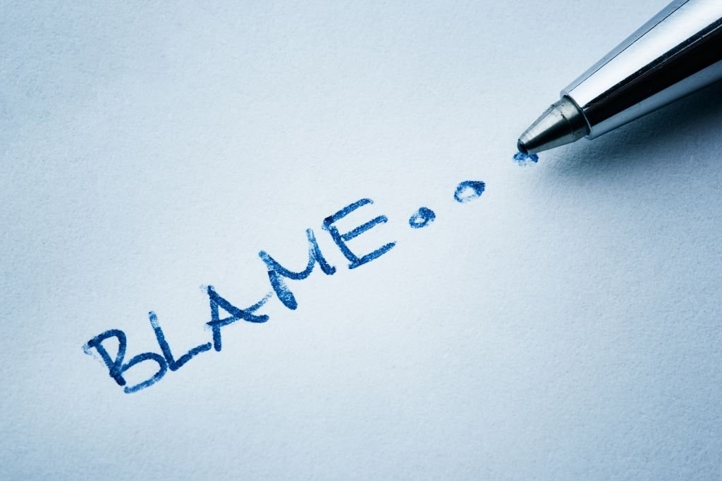 Avoid blame and ridicule