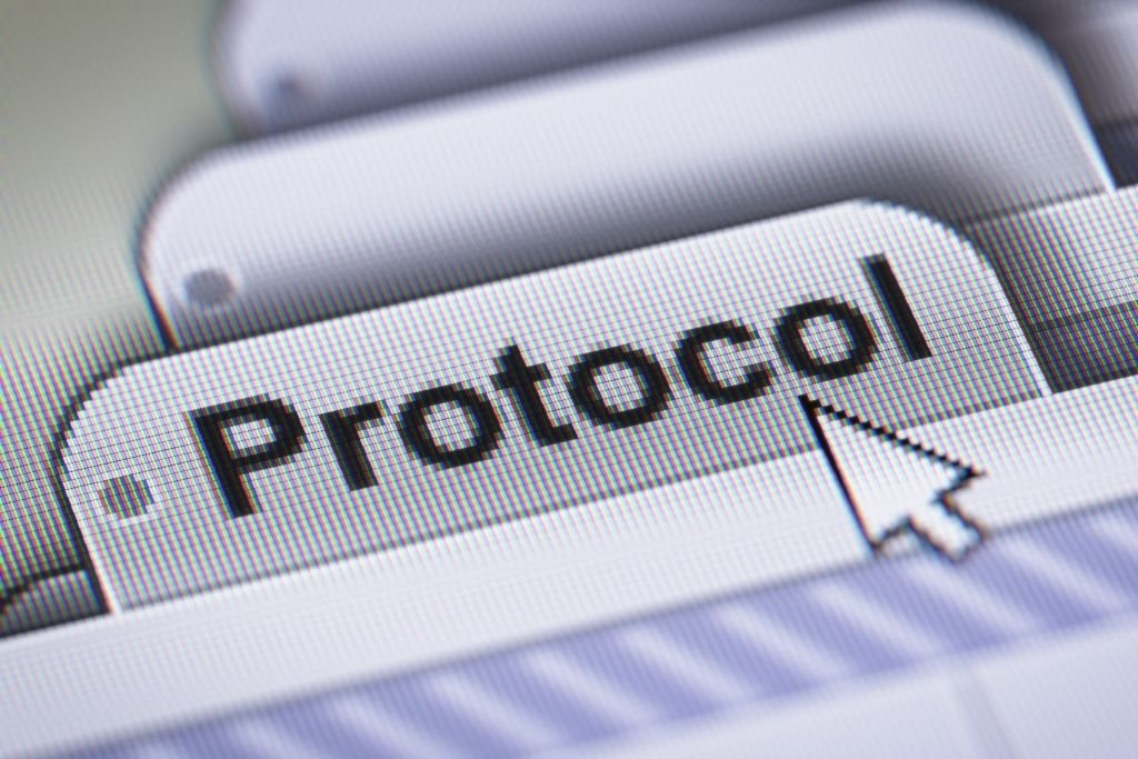 Challenges the protocol
