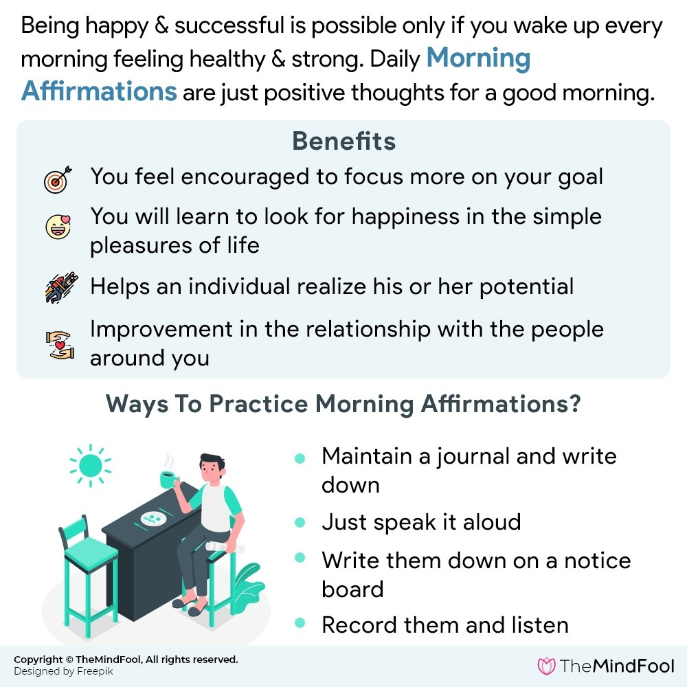 Benefits of Morning Affirmations