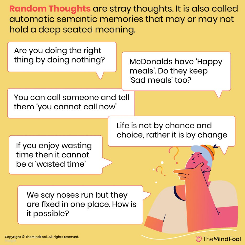 150 Random Thoughts to Ponder