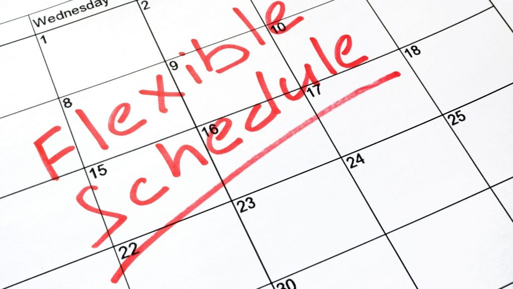 Flexible Scheduling