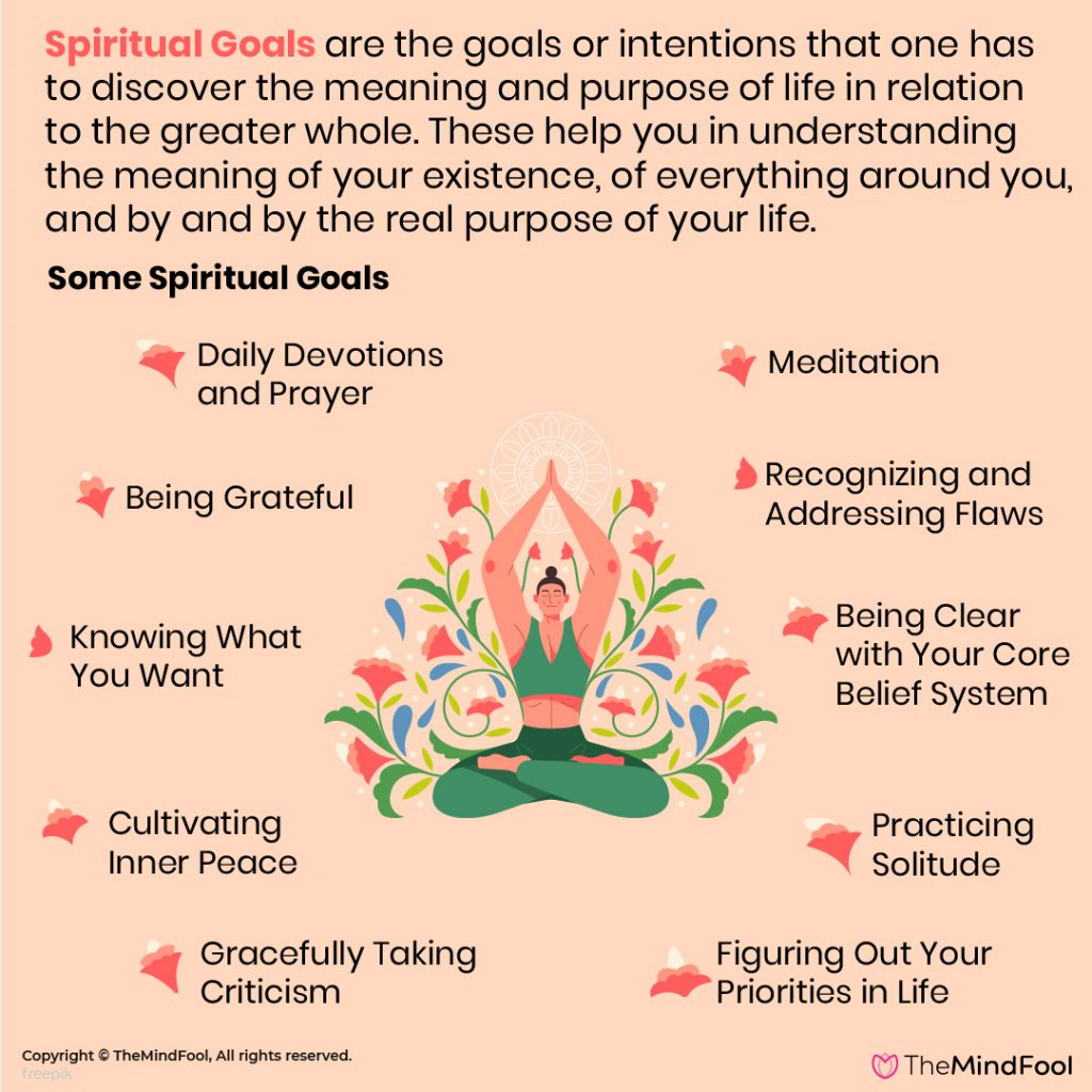Spiritual Goals That You Can Set For Yourself