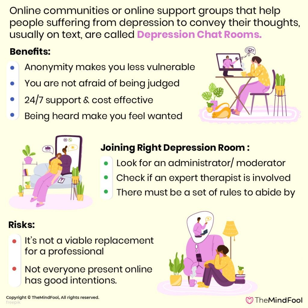 Depression Chat Rooms: All You Need To Know Before You Join One