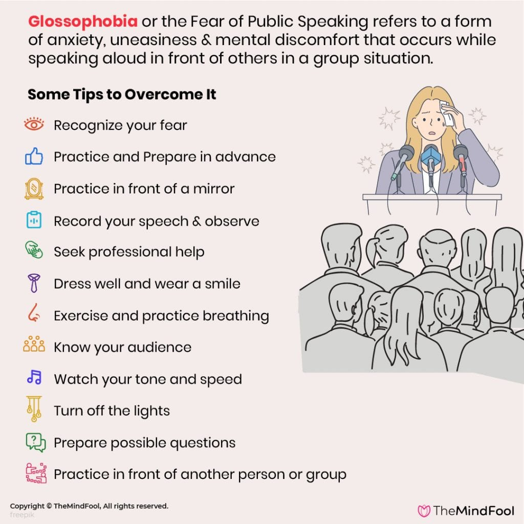 Glossophobia - How to Overcome Fear of Public Speaking?