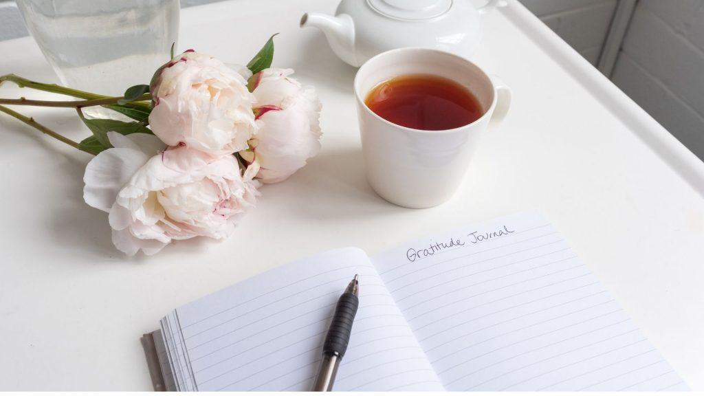 Maintain a gratitude journal
