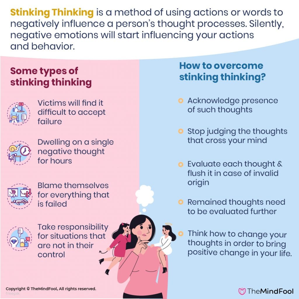 Stinking Thinking: 10 Types You Need to be Aware of