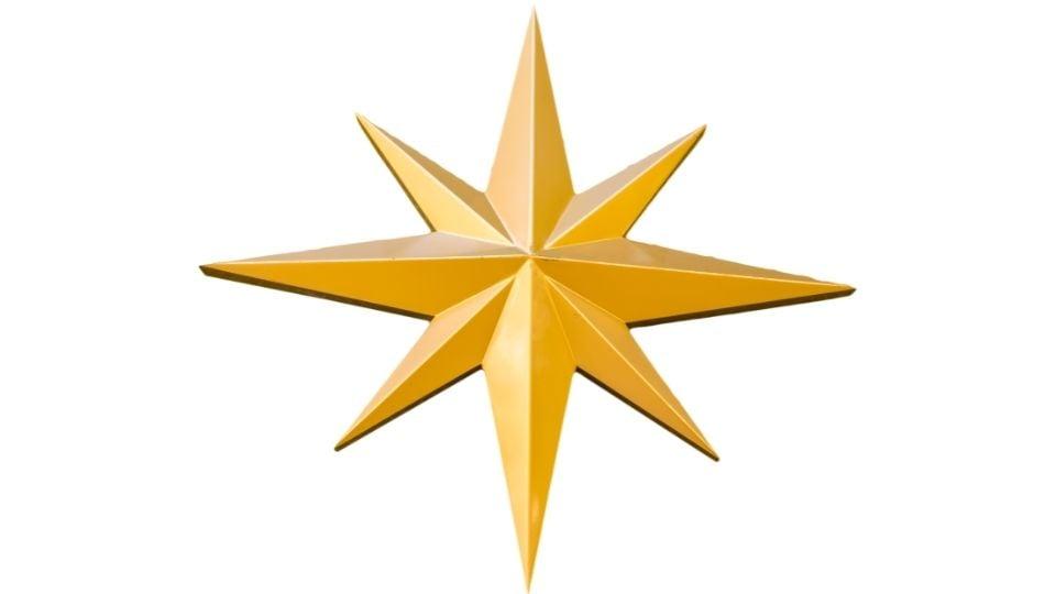 Hope Symbol- 8-Pointed Star