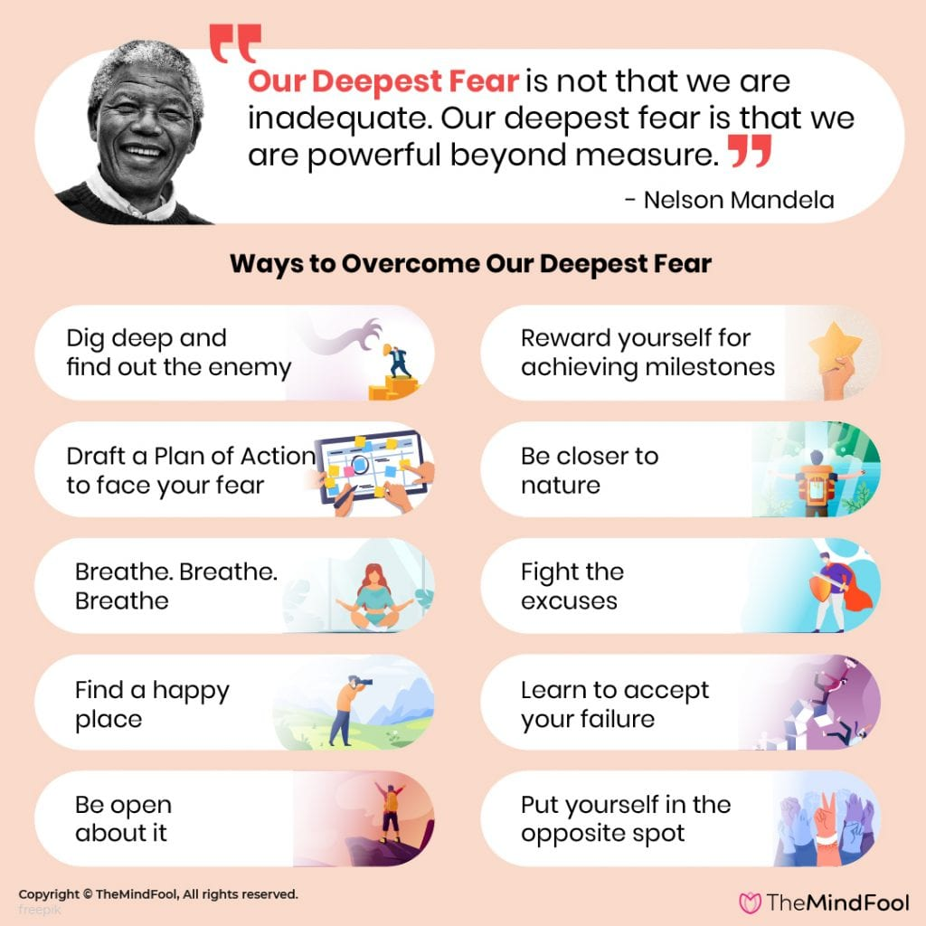 Our Deepest Fear & Ways to Overcome It