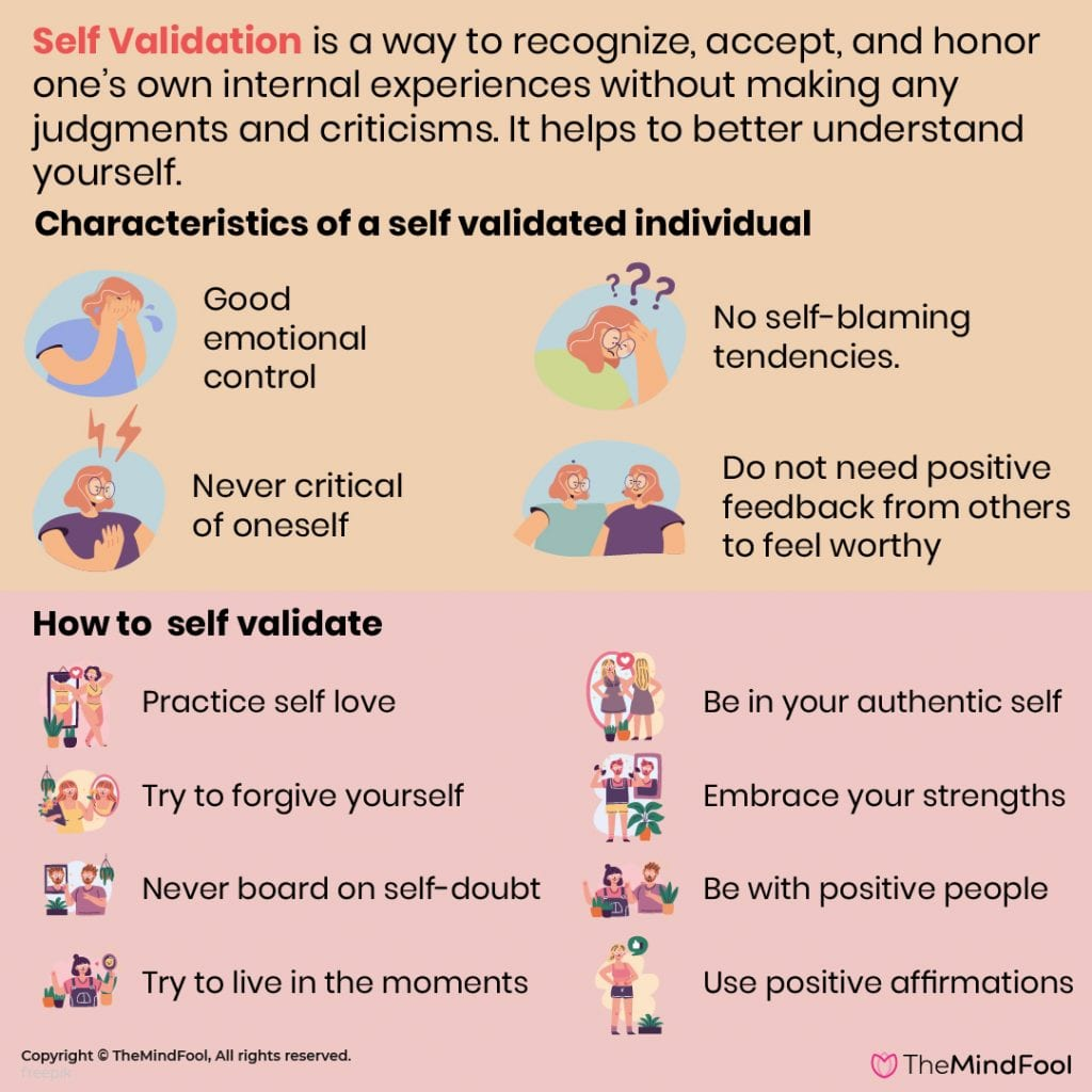Self Validation is an Inward Journey of Life