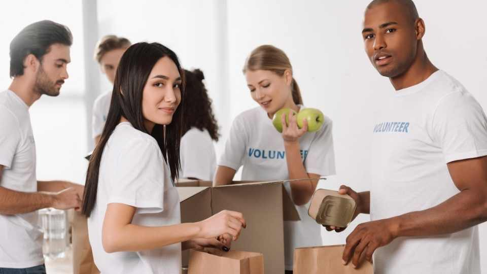 Volunteer for charity