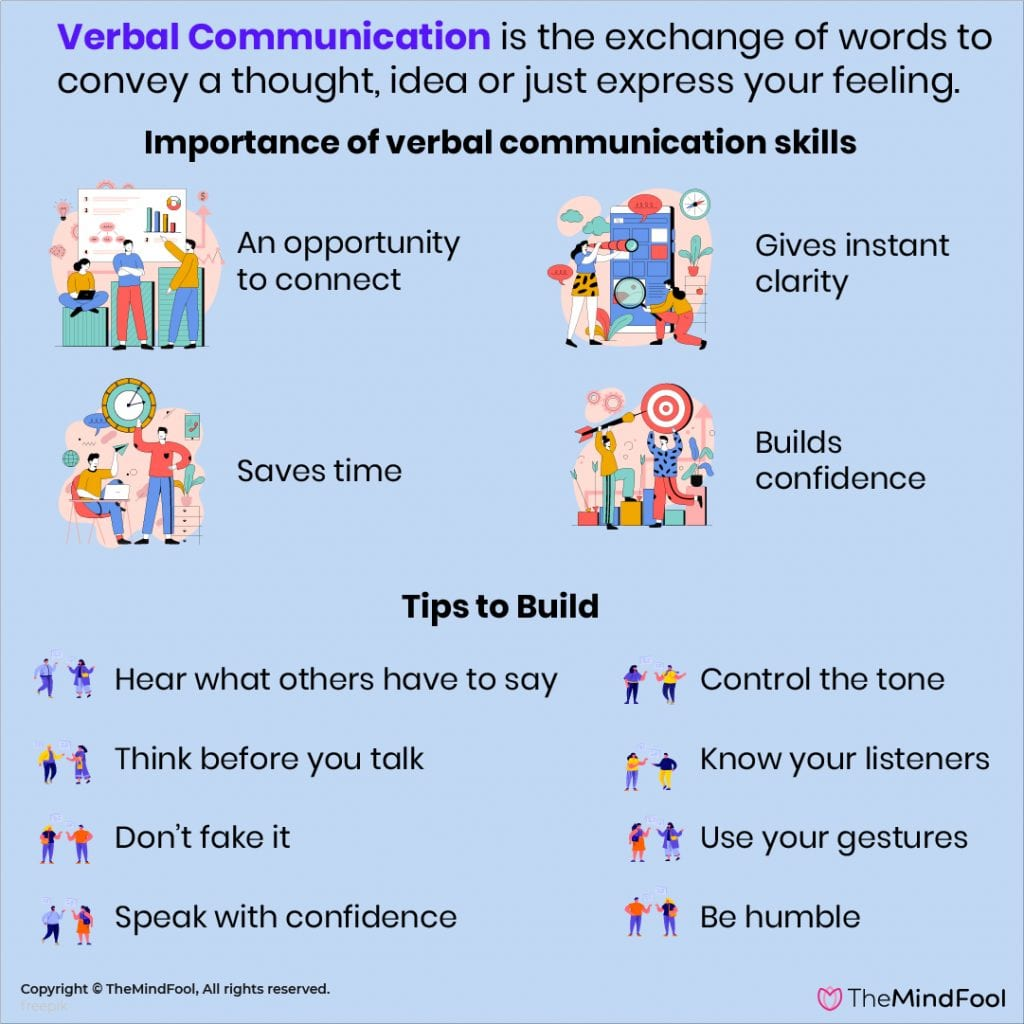 Simple tips to build your verbal communication skills